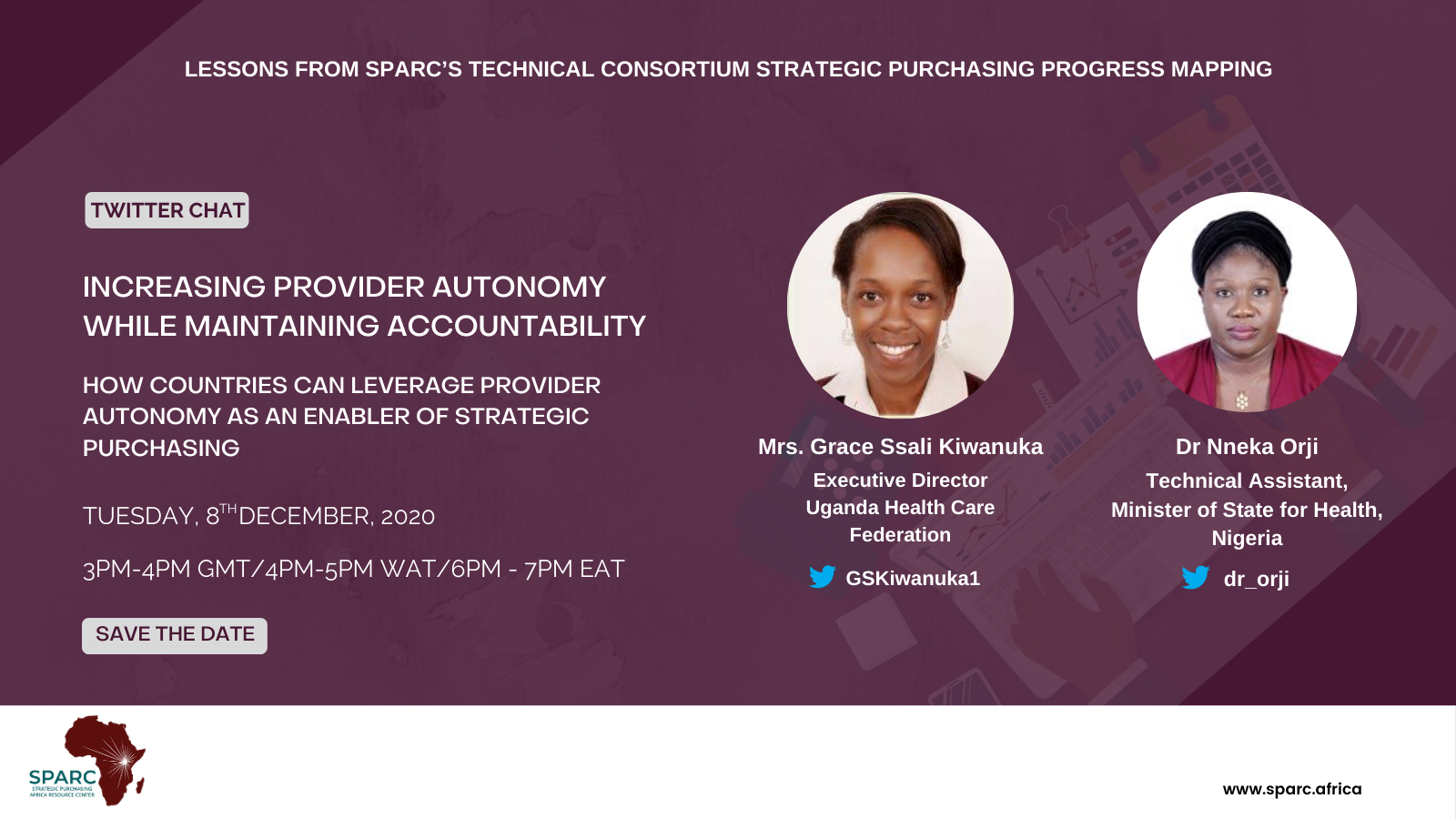 Key Messages from SPARCchat IX 'Increasing Provider Autonomy while Maintaining Accountability- How countries can leverage provider autonomy as an enabler of strategic purchasing'
