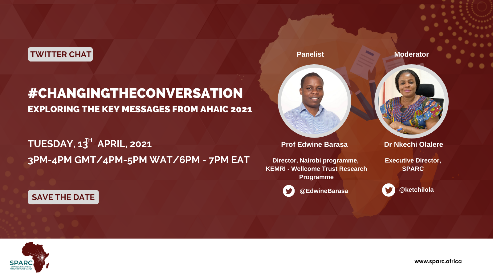 Curated Tweets from SPARCchat XII: #CHANGINGTHECONVERSATION – Exploring the Key Messages from AHAIC 2021
