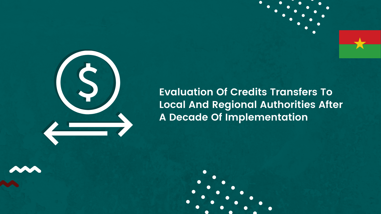 Evaluation of credits transfers to local and regional authorities after a decade of implementation